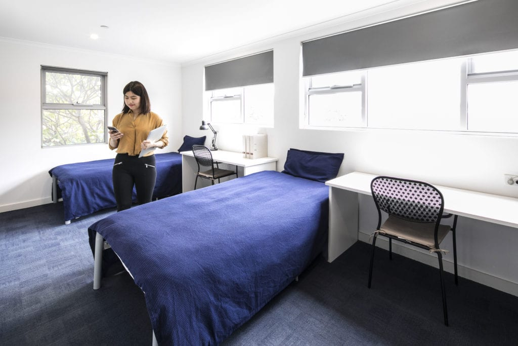 Student Accommodation Twin Room
